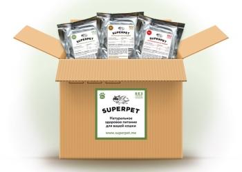 Натуральные корма для кошек Superpet
