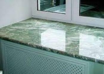 Изготовим долговечный подоконник из искусственного литьевого камня