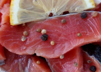 Рыбная продукция домашнего производства