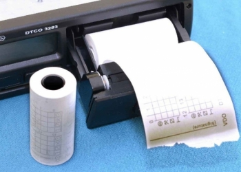 Бумажная лента для тахографа