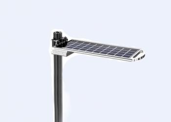 Солнечный LED-фонарь 15 Вт автономный моноблочный