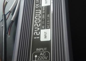 Блоки питания для светодиодных лент 12v