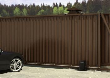 Сдвижные (откатные) распашные ворота калитка