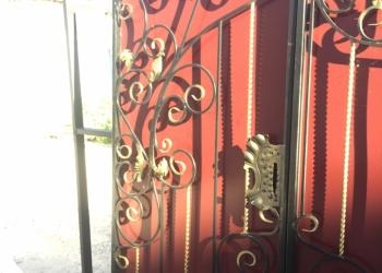Кованные ворота и калитки