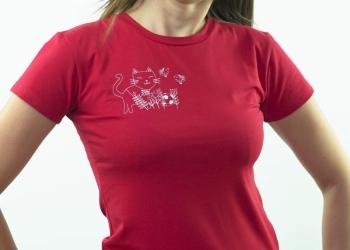 брендовые х/б футболки с котенком, размеры с 42 по 52