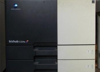 Цветной принтер коника минолта bizhub c224e