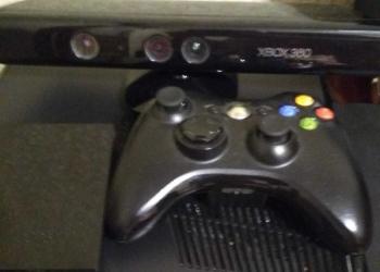 Xbox360+Kinect+HardDrive320gb