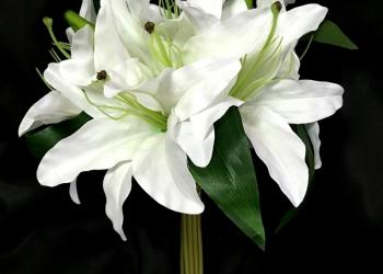 Искусственные цветы.Лилии!!!Лучшая цена!!!