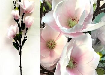 Искусственные цветы.Магнолия!Лучшая цена!