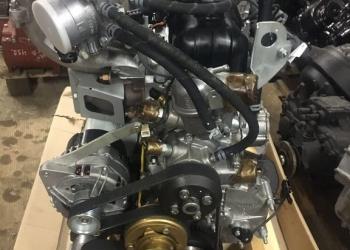 Двигатель УМЗ 4216 (с переоборудования) новый (все навесное) Евро 4