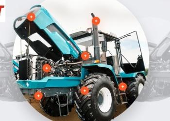 Трактор БТЗ-243К (Новый ХТЗ) ЯМЗ-53645 (250 л.с.) от представителя завода