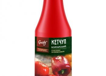 """Кетчуп от производителя фабрика приправ и специй  """"Гусли"""""""
