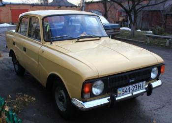 ИЖ Москвич-412, 1989 г.п.