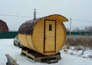 Баня-бочка – удобнейшая, экономнейшая и потрясающая вещь на даче,и не только...