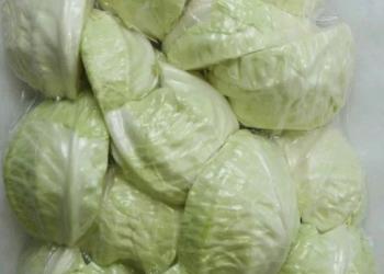 Овощи в вакуумной упаковке