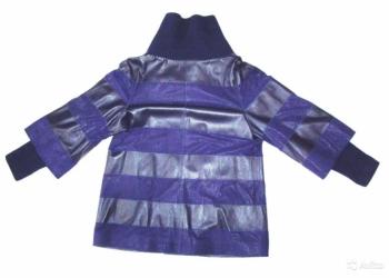 Кожаная куртка, производства Турции