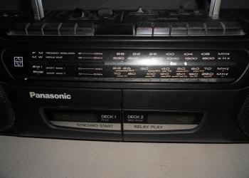 Стереомагнитола  Panasonic.