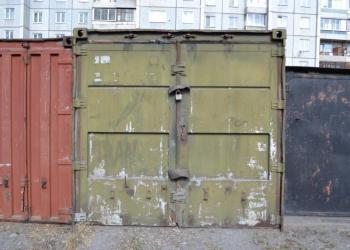 Купим металлические гаражи, контейнера,