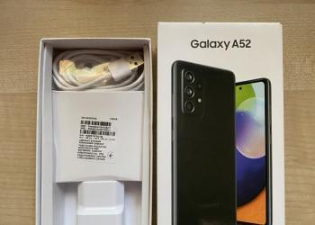 Новый телефон Samsung А52