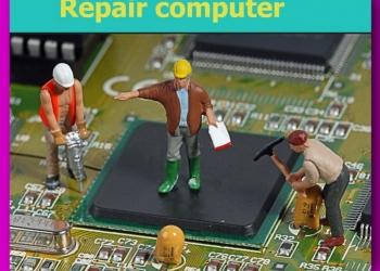 Ремонт ноутбуков  с заменой чипа и видеоматрицы