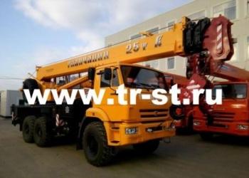 Автокраны Галичанин 25 тонн на шасси КАМАЗ, УРАЛ, МАЗ от Компании ТОРГОВЫЙ СТРОЙ