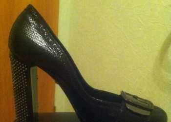 Туфли Lerre Италия кожа лак размер 38