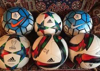 Футбольные мячи Nike, Adidas(новые)