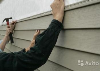 Обшивка фасада дома сайдингом недорого