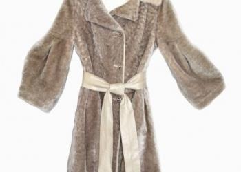 Продам элегантную шубку, овчина+норка, размер 42-44