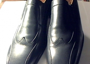 Туфли MANZ (Германия) размер 48, черные, кожаные