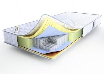 Двуспальный ортопедический матрас Lonax Latex-Medium TFK