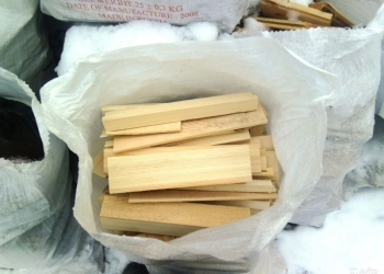 Продам Дрова в мешках пиленные поддоны сухие 40-50 см