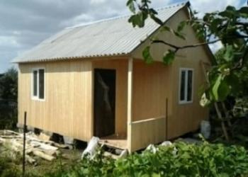 Строительство каркасного дома 5,0х6,0м с террасой 1,2х2,0м
