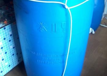 Бочки капроновые 225 л с подогревом воды