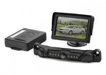 Парктроник с видеокамерой и монитором
