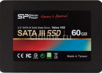 ssd silicon power velox v55, 60гб, sata lll
