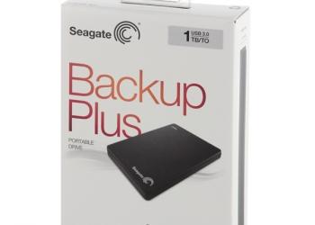 внешний жесткий диск seagate stbdr1000200, 1тб