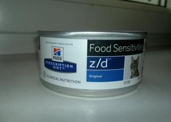 Продаю лечебный корм Хилс z/d консервы дешево