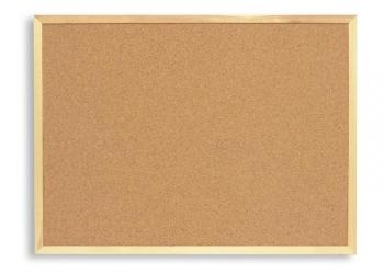 Доска пробковая 60x90 см, деревянная рама Новая