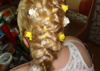 Плету косы, делаю прически
