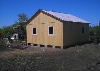 Строительство каркасного дома 6,0х6,0м 1 этажный
