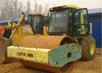 Каток вибрационный AMMANN ASC 150 D