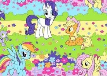 My little pony (май литл пони) - 1,5спальное постельное белье