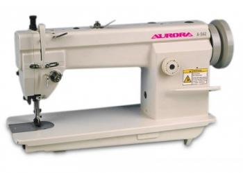 Прямострочная швейная машина с тройным продвижением Aurora A-562