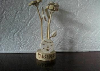 Сувениры ульяновские из натурального дерева.