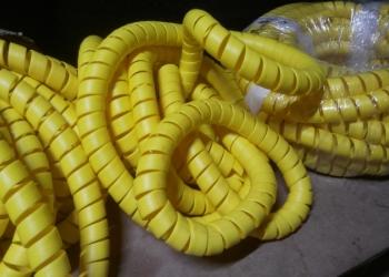 Гибкая защитная спираль.