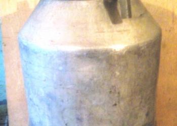 Фляга-бидон алюминиевая 40 л. продается