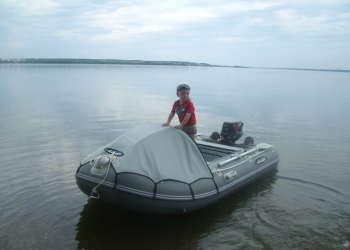 Продам моторную лодку Гладиатор 330 АL с мотором Tohatsu M 9,8 B