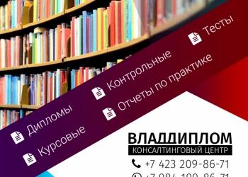 Дипломы, курсовые, отчеты и др.