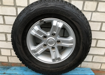 в сборе: шины зим. 4шт  245/70 R16 BRIDGESTONE BLIZZAK DM-V1 + 1 диск